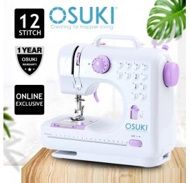 OSUKI Household Sewing Machine (2 in 1)