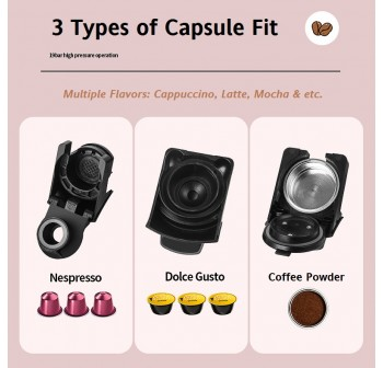 OSUKI Household Coffee Machine (3 in 1)