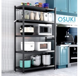 OSUKI Home Kitchen Steel Rack 5 Layer (160 x 120cm)