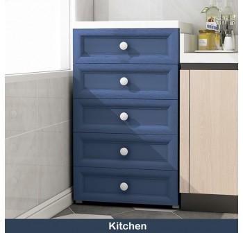 OSUKI Drawer 5 Layer Storage Cabinet 48cm Wardrobe