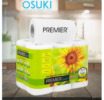 PREMIER Kitchen Tissue Towel (60 Pcs x 1 Roll)