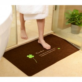 OSUKI Anti-Skid Pad Carpet Mats 50*80 Coffee Tree (Brown)