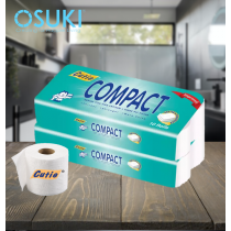 Cutie Compact Toilet Tissue 3 PLY - (1 Roll)