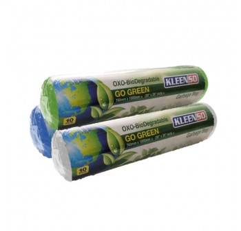 KLEENSO Garbage Bag Dustbin Oxo-Biodegradable 10 x 3 rolls