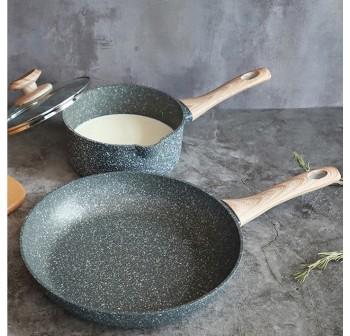 OSUKI Classic Stone Fry Pan 28cm (FREE Spatula)