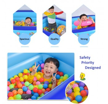 OSUKI Kids Children Swimming Pool 3 Layer (150 x 105cm)