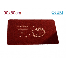 OSUKI Anti Slip Carpet Mats 50 x 80cm (Coffee Red)